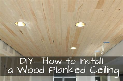 Lightweight Ceiling Planks Wood Plank Ceiling Woodworking Projects Plans