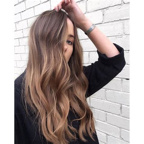 a line with subtle balyage highlights hair balyage 210 best images about ombr 233 balayage color melt on