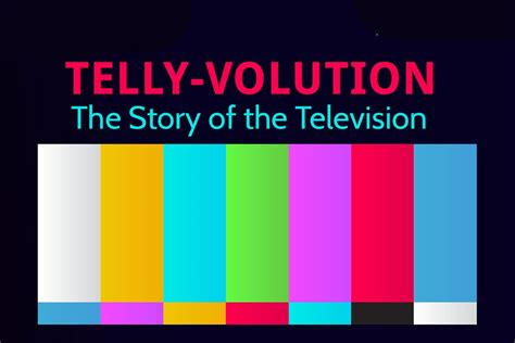 the history of infographic the history of television
