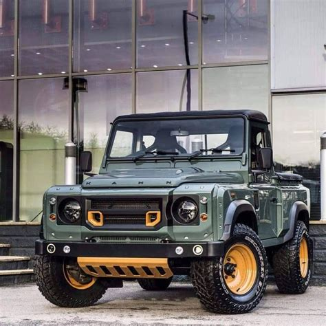 custom land rover defender these custom land rover defenders are absolutely