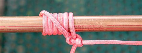 tying  pipe hitch knot kbvbr  pole antennas