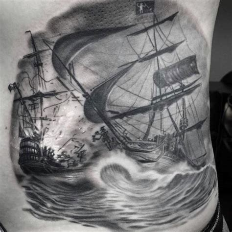 pirate ship tattoo design 70 ship ideas for a sea of sailor designs