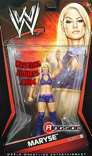 maryse figure maryse wwe series 8 ringside collectibles