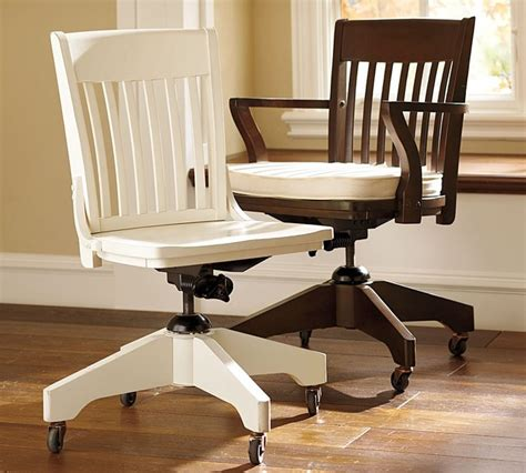 pottery barn desk chair swivel desk chairs and cushion traditional office