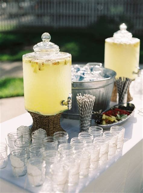 wedding drink station in 4 easy steps