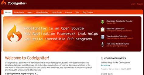 codeigniter tutorial scratch 17 best free php frameworks