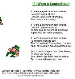 st s day if i were a leprechaun song teachers everywhere