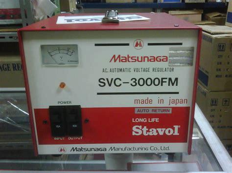 Stabilizer Oki Handal 3000 Watt Oki Stabilizer sumberstavol stabilizer matsunaga 3000 fm