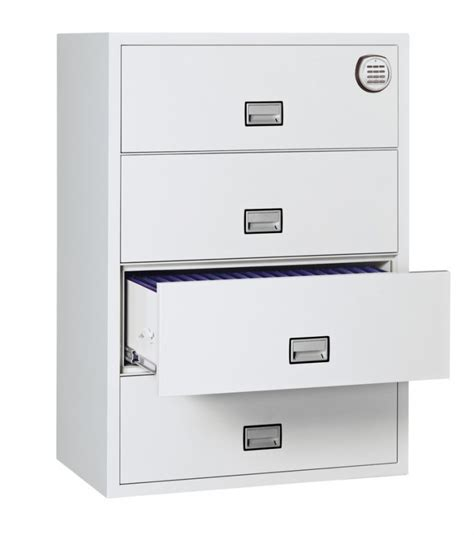 Phoenix FS2414E Lateral 2 drawer filing cabinet electronic