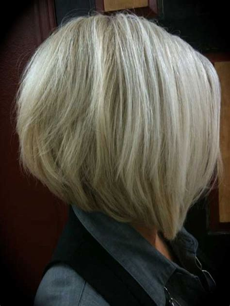 med length bob graduated layers medium inverted bob hairstyles back view graduated bob