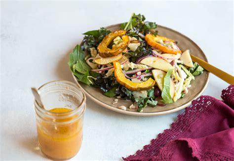 winter pasta salad winter greens slaw recipe dishmaps