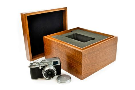 Handcrafted Box - handcrafted wooden box for fujifilm digital