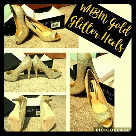 white house black market shoes sale 85 off white house black market shoes sale whbm gold glitter sexy heels like new