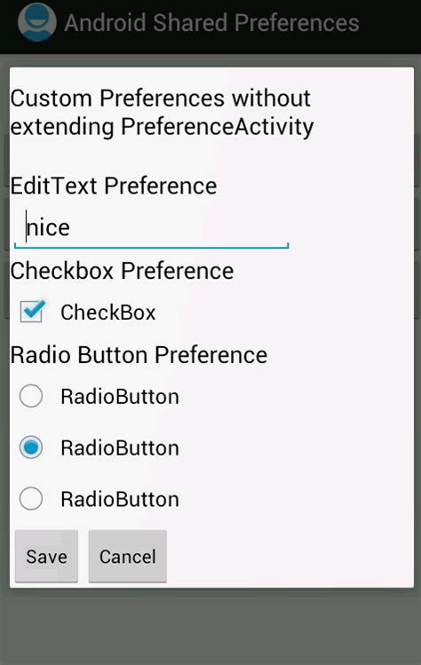 android preference android shared preferences exle using preferencefragment store fetch and edit