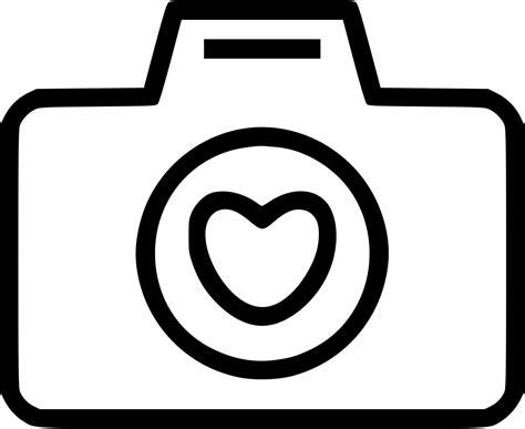 chat camara a camara camera love heart svg png icon free download 469256