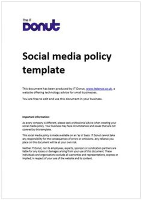 1000 Images About Social Media Policy On Pinterest Social Media Best Practice And Business Social Media Policy Template For Enforcement