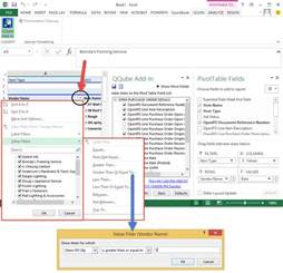 filtering dynamic data clearify