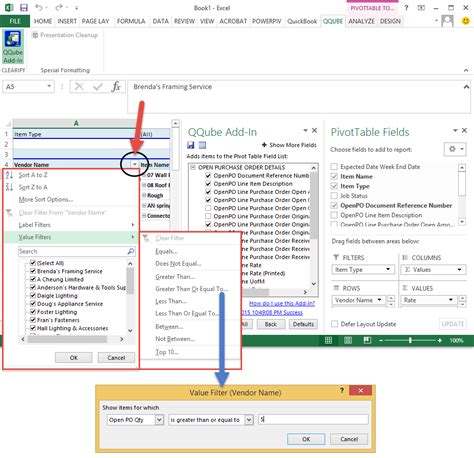 Filter Pivot Table filtering dynamic data clearify