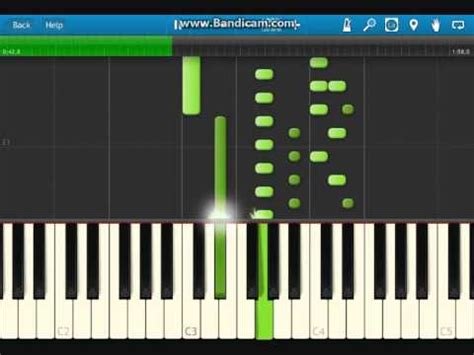 tutorial piano one and only lily allen somewhere only we know piano tutorial youtube