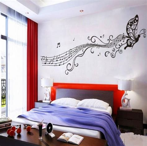 music themed bedroom music themed d 233 cor ideas homesfeed