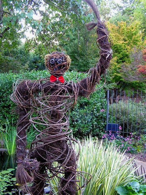 scarecrow  harvest creature design ideas hgtv