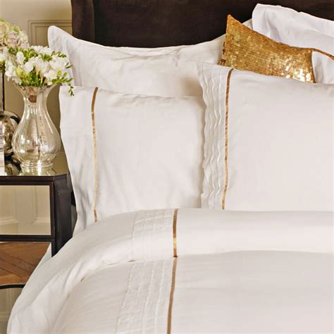 allison white bedding set