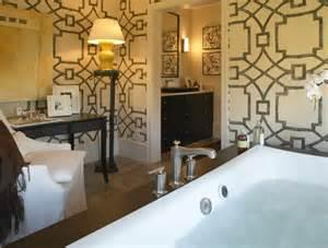 wallpaper for bathroom walls elliott interior design beautiful bathroom design