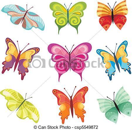 can stock photo clipart illustration vecteur de papillon ensemble vecteur