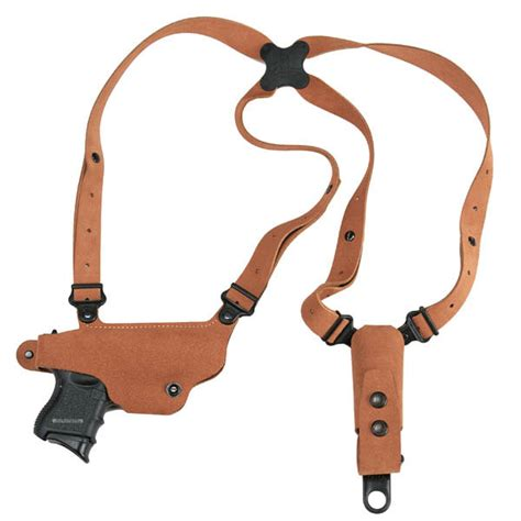 Most Comfortable Shoulder Holster by Galco Classic Lite Shoulder Holster Horizontal