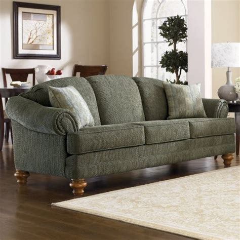 traditional fabric sofas charles schneider hope green fabric sofa with accent