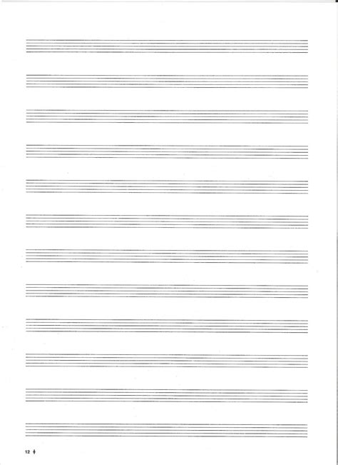 printable notes page template 6 best images of printable blank note sheets music note