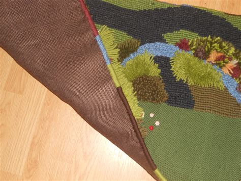 farm play rug the five of us finished wool farm play mat