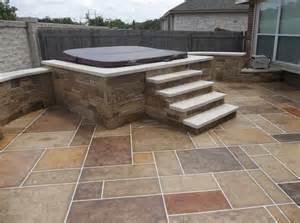 Diy Stamped Concrete Patio Patios Decks And Enclosures Spindler Construction
