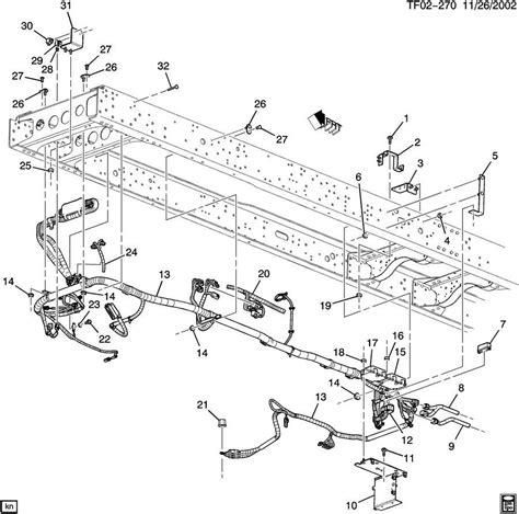 t6500 wiring diagram c4500 wiring diagram wiring diagram odicis 2009 topkick kodiak t6500 t7500 chassis wiring harness 7 8 b diesel lf8 25937761 factory oem parts