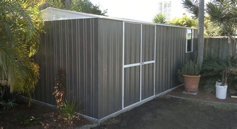 zincalume garden shed shed build
