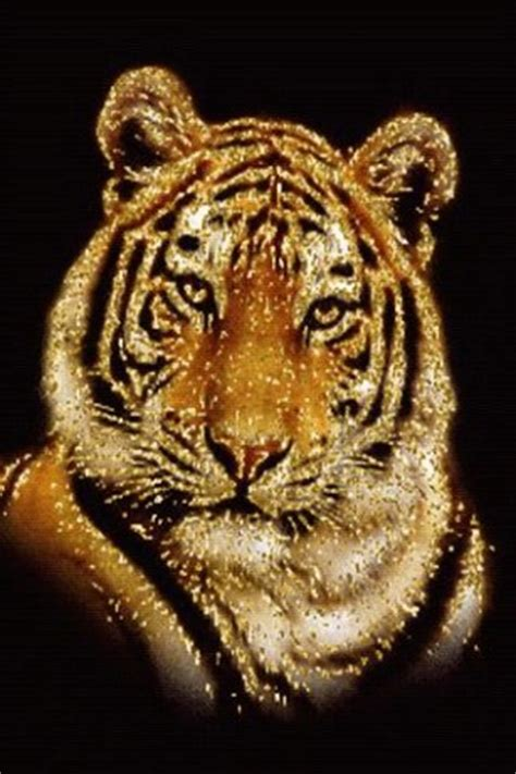Gold Tiger Free Live Wallpaper For Android