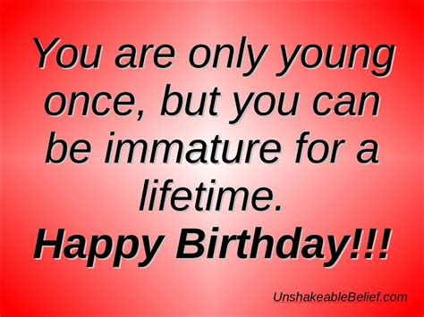 Birthday Quotes From Adult Happy Birthday Quotes Quotesgram