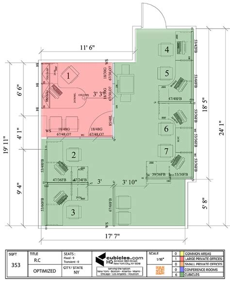 Cubicle Floor Plan by Floor Plan Of A Business In Ny Cubiclelayout Cubicle