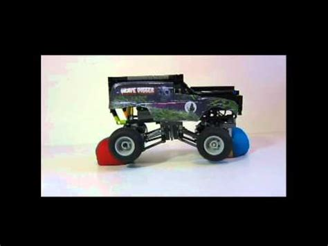 grave digger monster truck videos youtube mini grave digger monster truck youtube