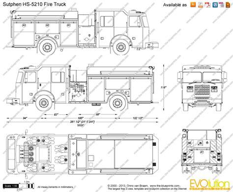 draw plans the blueprints com vector drawing sutphen hs 5210 fire