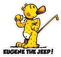 Jeep On Popeye Top 25 Best Eugene The Jeep Ideas On Popeye