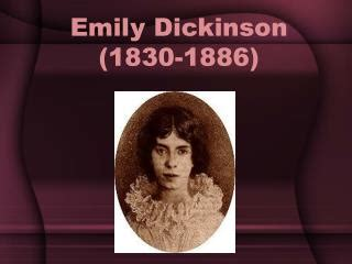 emily dickinson biography ppt ppt emily dickinson powerpoint presentation id 2221337
