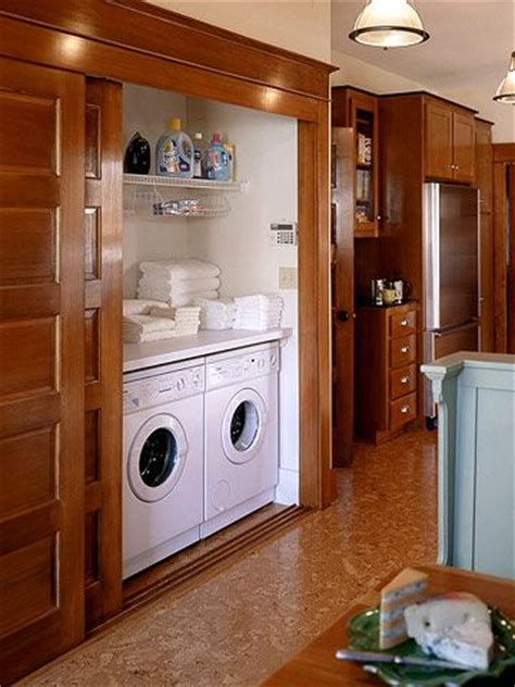 doors to hide washer and dryer for my home favorite 17 best images about laundry rooms utility rooms on