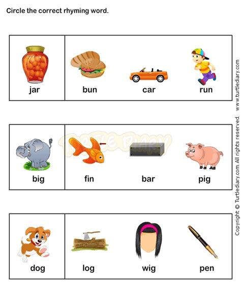 words that rhyme with comfort free rhyming worksheets coloring pages