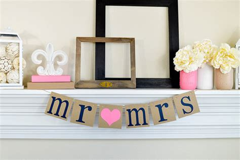 Wedding Table Banner by Mr Mrs Table Sign Chair Signs Wedding Banners