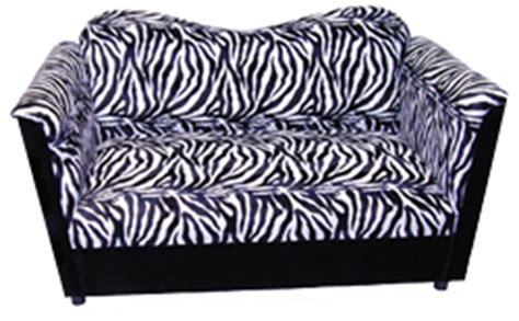 zebra print loveseat 5 furry furniture finds for the comfort seeker