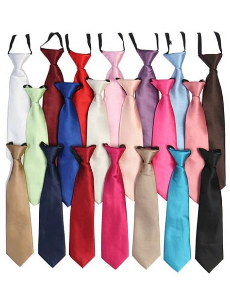 tie color boys suit ties assorted colors 14 99 dress and tux