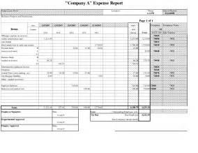 Personal Expense Report Template expense report template http webdesign14 com