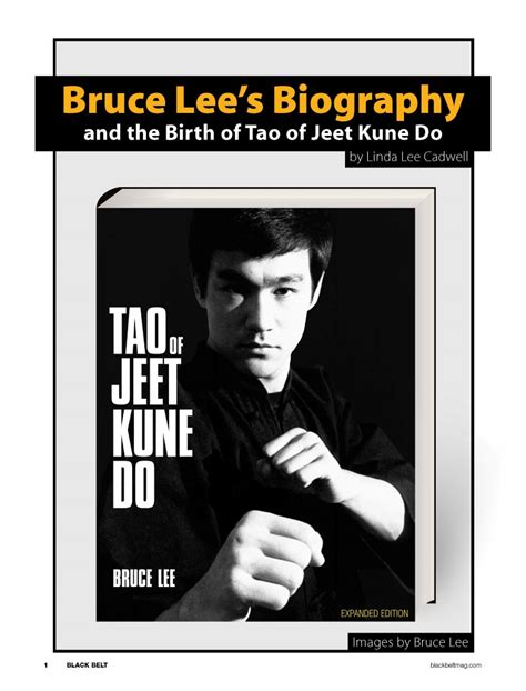 biography of bruce lee pdf oe cont 5ways 13c five ways of attack