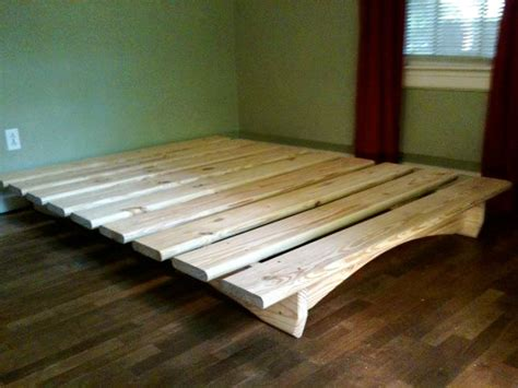 How To Make A Simple Bed Frame 25 Best Ideas About Diy Platform Bed On Pinterest Diy Bed Frame Diy Platform Bed Frame And